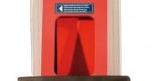 Protecciones de goma en columnas para la apertura de las puertas