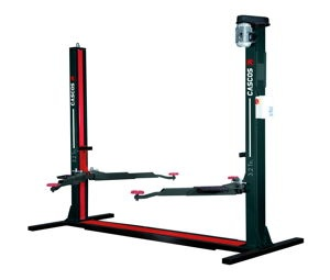 2 post lift 3.2 Tn C-3.2 COMFORT with solid base (2 triple arms + 2 double) [13120C]