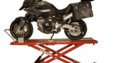 Hydraulic motorcycle table lift